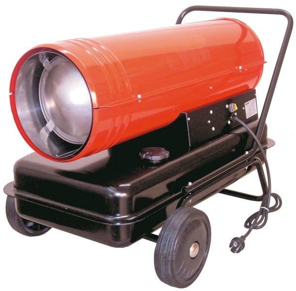 Byggvarmer diesel