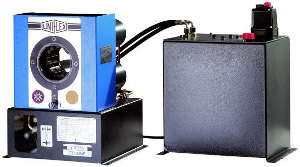 Hydraulikkslange presse